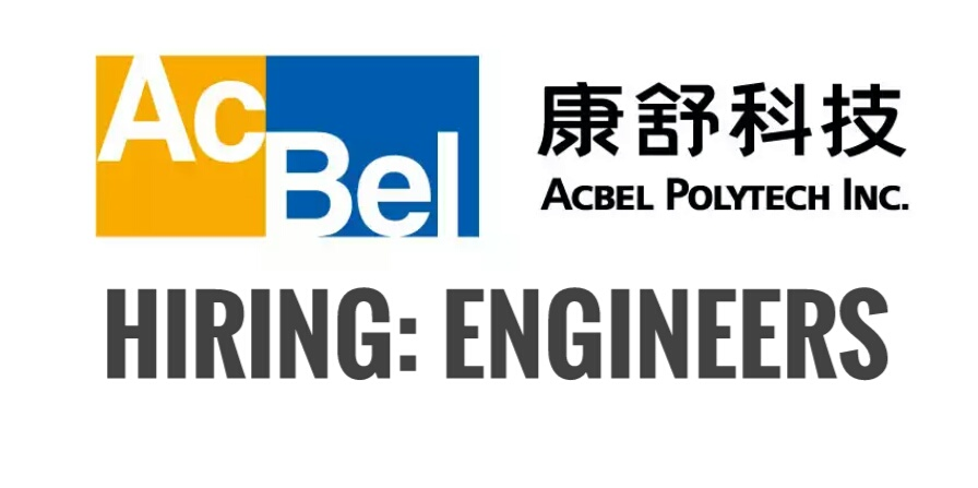 Hiring: Engineers For Acbel Polytech Inc  ~ PINOY REFRESHER