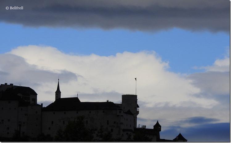 Blauer Himmel Festung 2