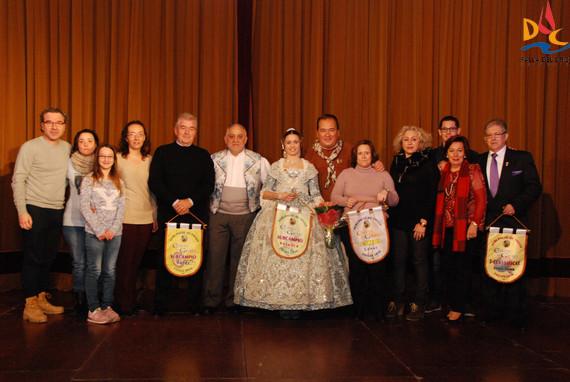 La comisión mayor recogió los premios de la Agrupación