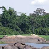 """Roches et """"rapides"""" sur la Nyong, Ebogo (Cameroun), 8 avril 2012. Photo : J.-M. Gayman"""