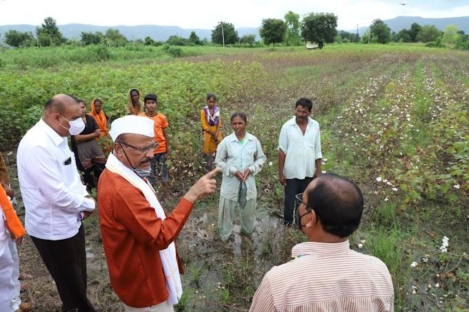 एकही नुकसानग्रस्त शेतकरी पंचनामा पासून वंचित राहता कामा नये - . अब्दुल सत्तार यांचे निर्देश