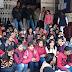 अखिल भारतीय विद्यार्थी परिषद के बैनर तले सैकड़ों छात्राओं ने डिग्री एवं पीजी नामांकन में लिए गए शुल्क को वापस करने की मांग को लेकर किया गया काॅलेज गया में हंगामा