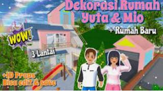 ID Rumah Yuta dan Mio Sakura School Simulator Cek Disini