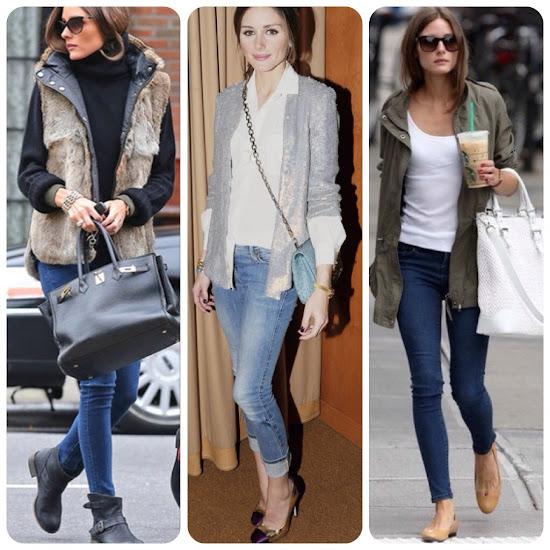 Olivia Palermo Style Fall Fashion Tips Casual Denim