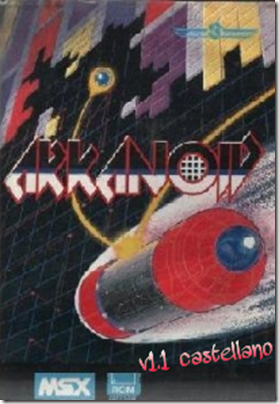 Cover castellano arkanoid