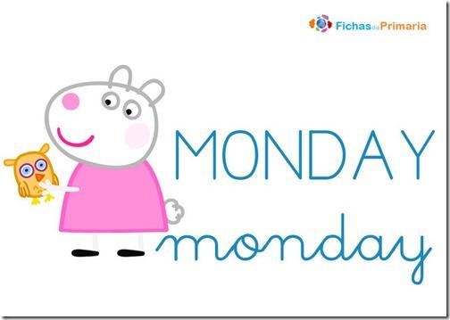 dias-de-la-semana-peppa-pig-ingles-monday