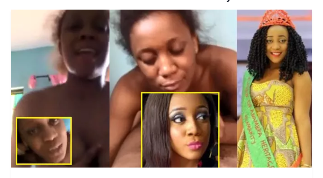 Part 2 Video Of Nigerian Beauty Queen's S3x Tape Is Out And Is