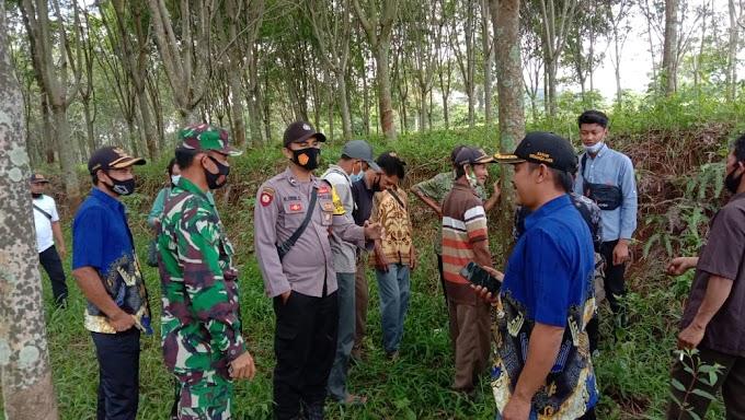 Ini Himbauan Babinsa dan Babinkantibmas Kepada Warga KAmpung Menanga Jaya