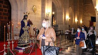 Veneración al Cautivo de Medinaceli en su Besapiés
