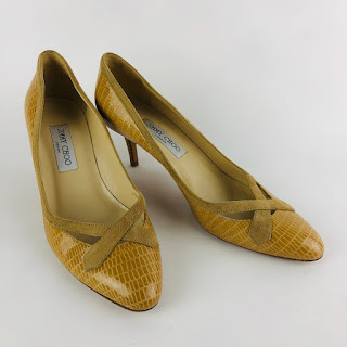 ** SALE** Jimmy Choo Embossed Pumps
