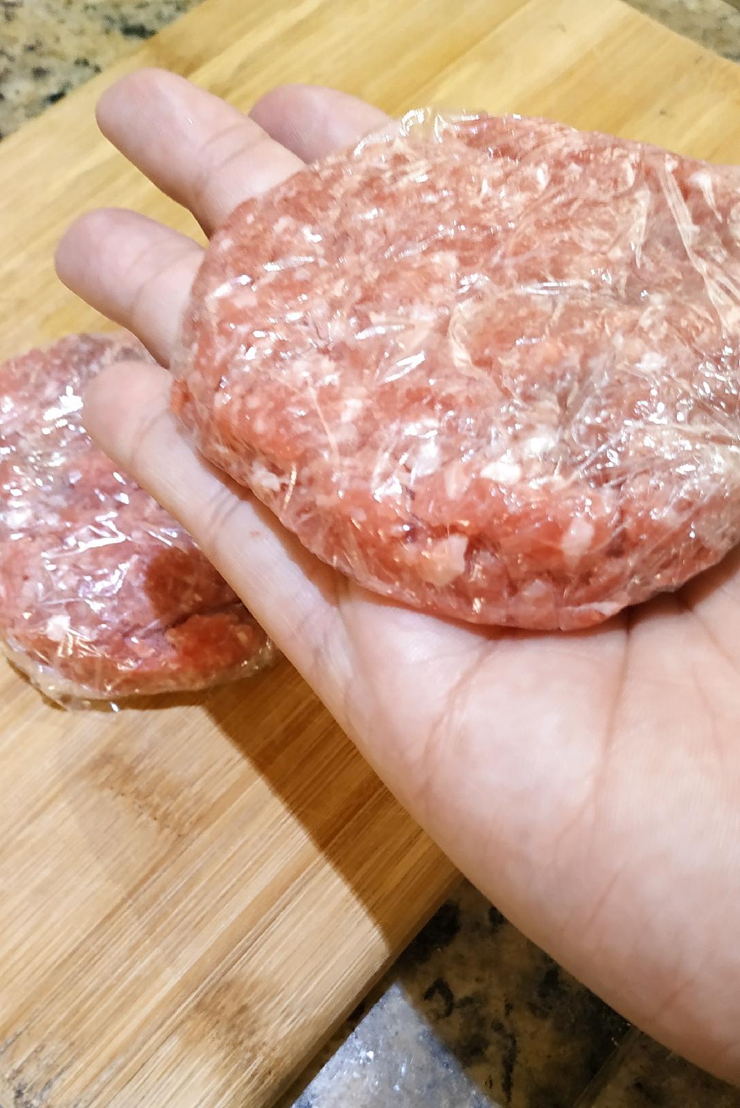 Como fazer hambúrguer caseiro para congelar