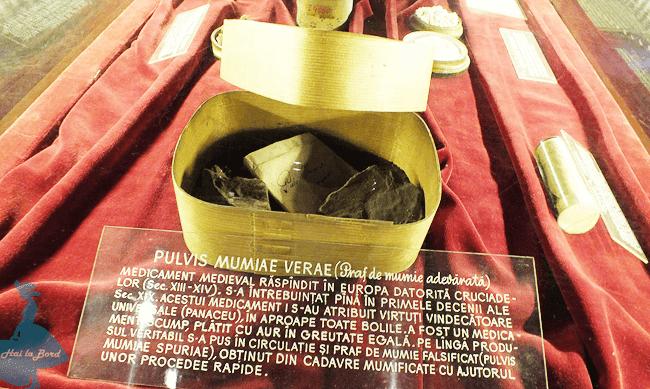 praf mumie muzeul farmaciei cluj