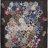 Quilt de l'affiche Trimoulet 2011 réalisé par Brigitte Le Guerroué