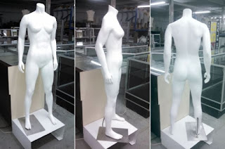 MALE AND FEMALE  MANNEQUINS FULL LENGTH -7