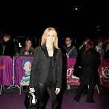 WWW.ENTSIMAGES.COM -  Helen Fospero  arriving  at  Cirque Du Soleil: Kooza VIP Royal Albert Hall London January 8th 2013                                                       Photo Mobis Photos/OIC 0203 174 1069