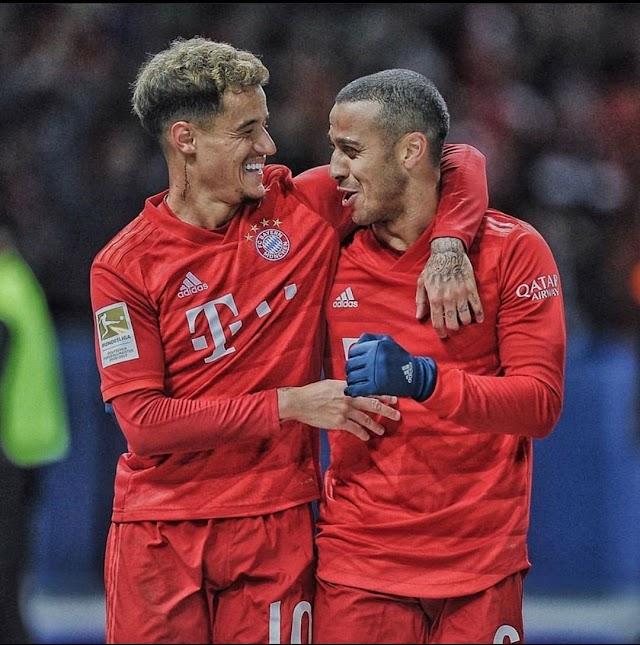 Thiago Alcantara considers Barça return but is committed to Bayern Munich (Bild)