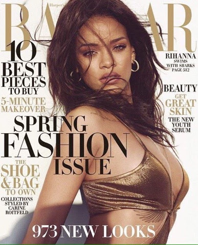 Rihanna for Harper's Bazaar March 2015 Issue