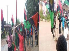 IPOB Members Protests, Says Referendum Is The Answer (photos)