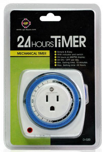 Các loại timer điện tử cho hồ cá thủy sinh