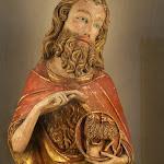 Catalogne - Saint Jean-Baptiste (albâtre, 14e siècle)