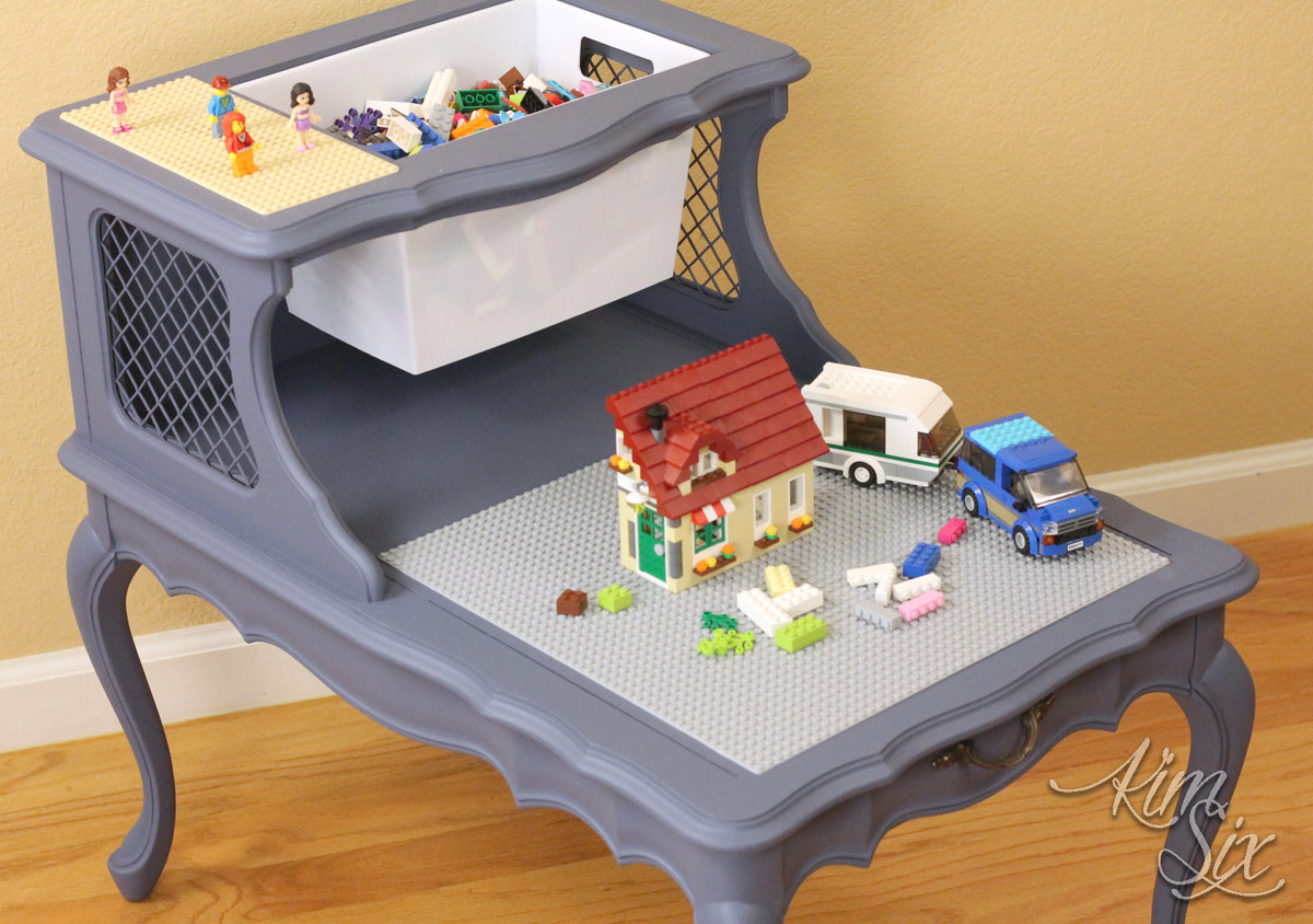 Lego Table From Two Tier End Table The Kim Six Fix