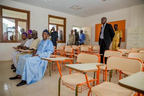 Ilesa Government High School classroom