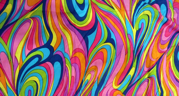 swirly fabric