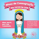Consagração a Jesus por Maria 2013 - Maio/2013