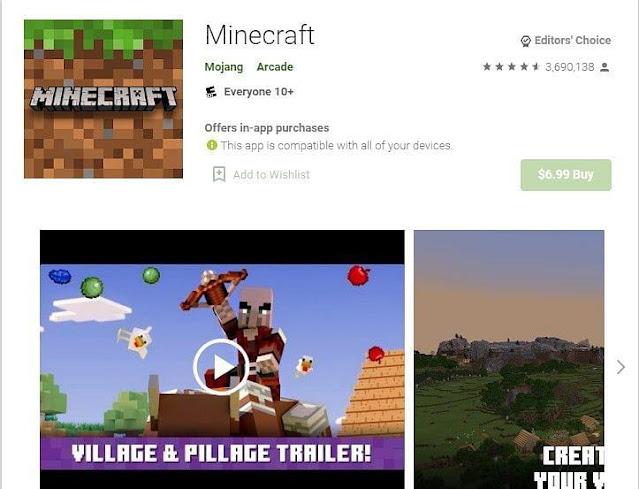Android cihazlarda Minecraft Pocket Edition nasıl indirilir: Adım adım kılavuz