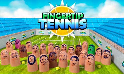 Fingertip Tennis