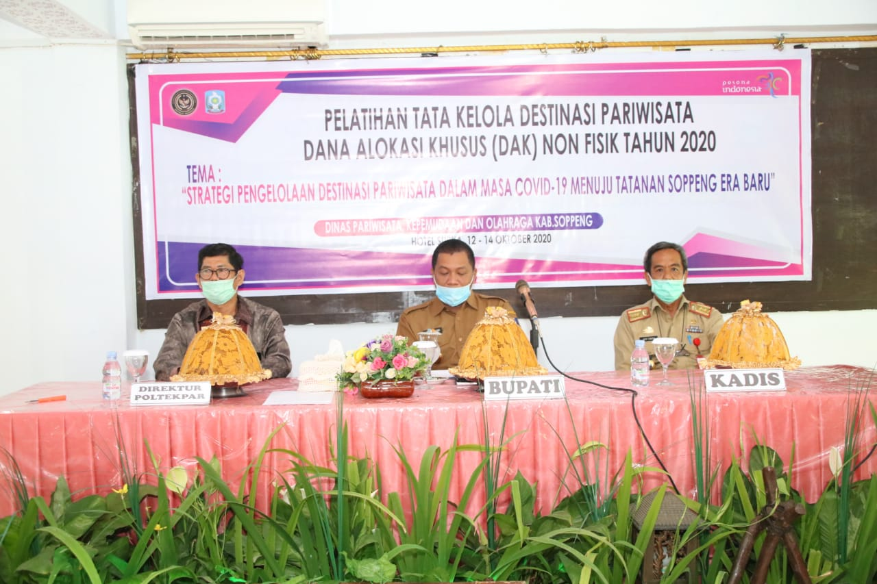 Kebijakan yang Efektif untuk Meningkatkan Pengelolaan Destinasi Wisata di Kabupaten Soppeng.