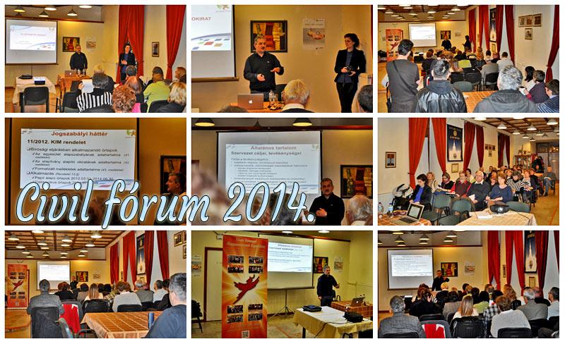 Civil fórum Kaposvár 2014