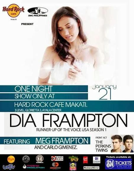 Dia Frampton Live in Manila 2014  Dia Frampton  Live in Manila  2014