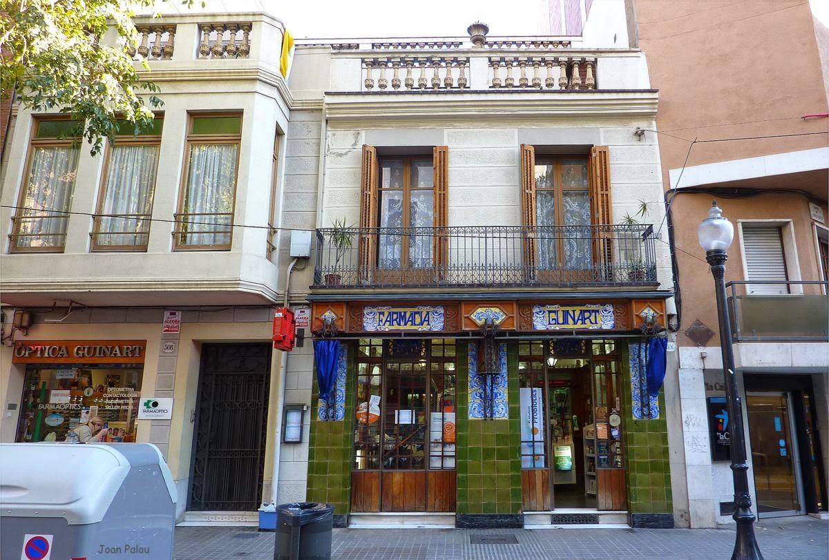 Farmacia guinart barcelona modernista i singular - La farmacia en casa ...