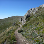 Narrow track above Albina Lake (267320)