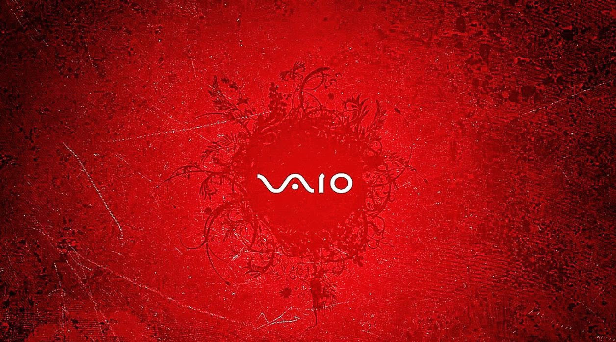 vaio red wallpaper by - photo #4