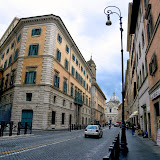 12. Street in Rome. 2013