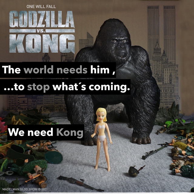 King Kong: One will fall
