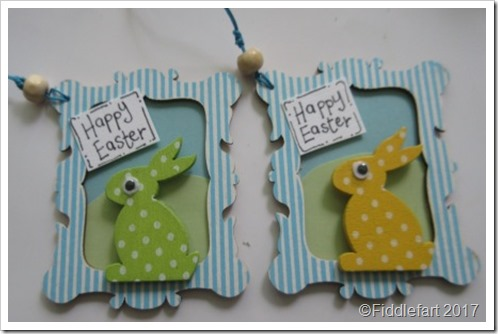 Easter Bunny Gift Tags 1