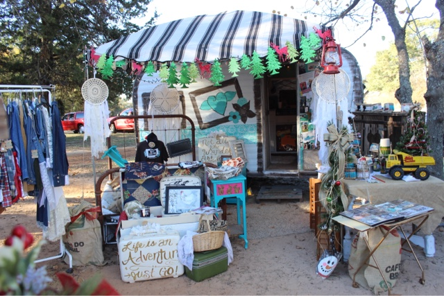 GypsyFarmGirl and Rooster Tails Flea Market Booth