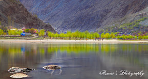 Khalti Lake, Ghizer Valley, Gilgit Baltistan