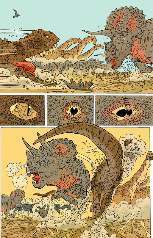Age of Reptiles: The Journey by Ricardo Delgado, Jim Campbell, Tony Ong.