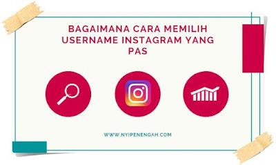 Tips memilih username instagram memilih username untuk akun jualan di instagram bagaimana cara memilih username instagram yag tepat