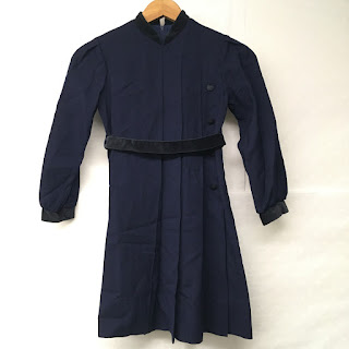 Christian Dior Children's Navy Blue Dress