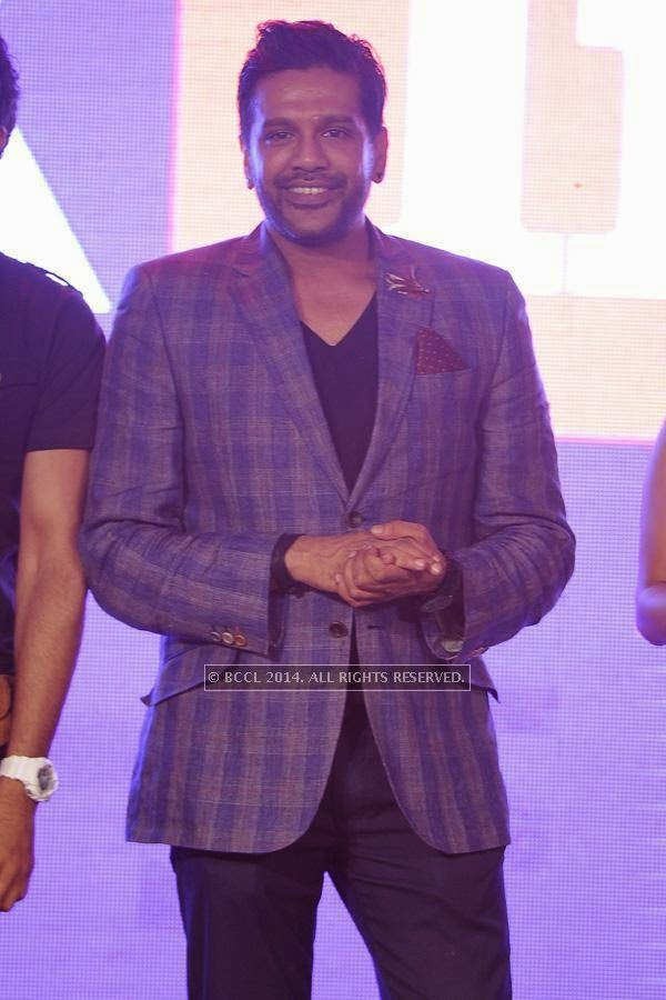 Rocky S during the launch of FOX Traveller's new television channel FOX Life, in Mumbai, on July 16, 2014.