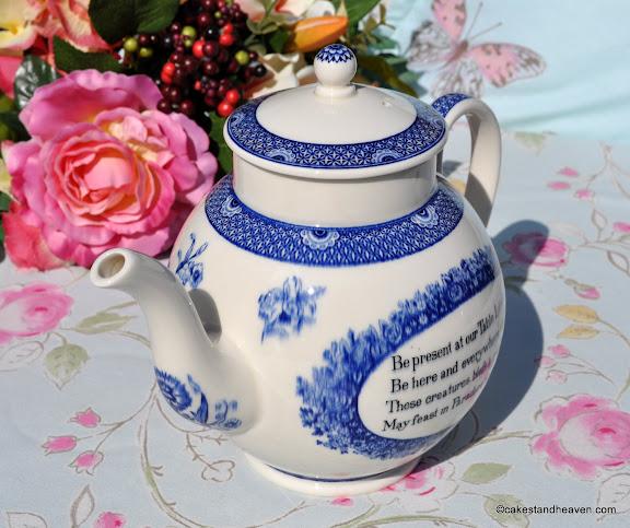 Wedgwood Creamware Wesley Teapot