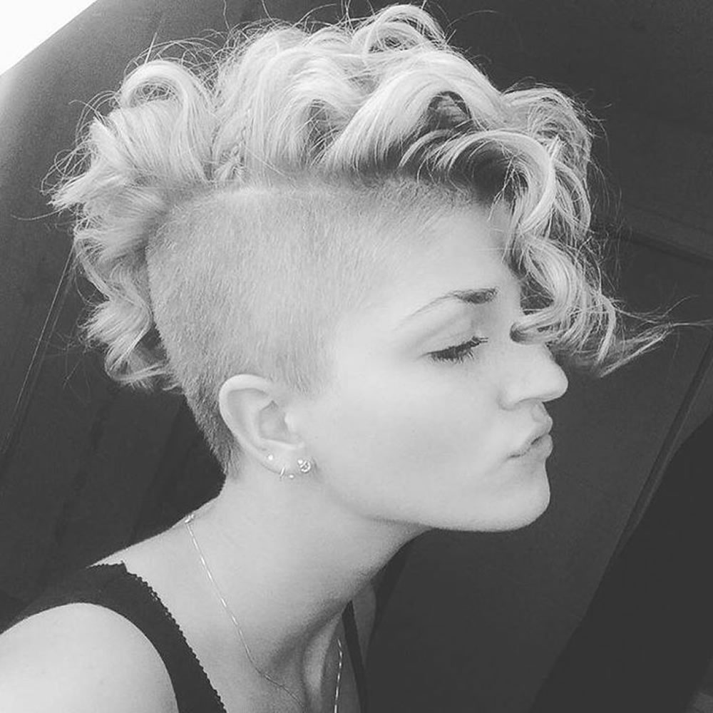 Undercut Hair Design for Women - Undercut Hairstyles 2018 1