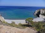 Η παραλία Παπα Μηνά από ψηλά