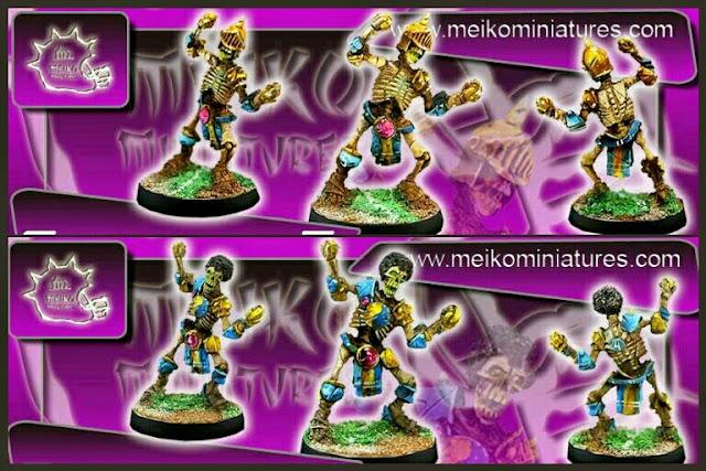 esqueletos Khemri Meiko Miniatures I
