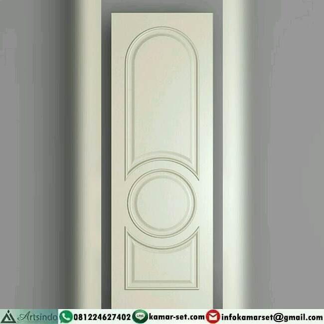 pintu kamar bulat di tengah sangat cantik
